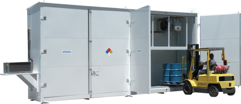 4-Hour Fire Rated Non-Occupancy Chemical Storage Building