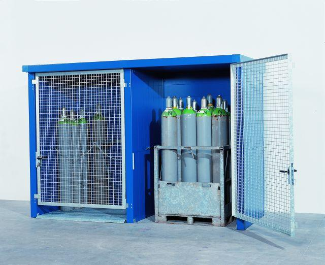 2-Hour Fire Rated Gas Cylinder Cage - 24 Cylinders