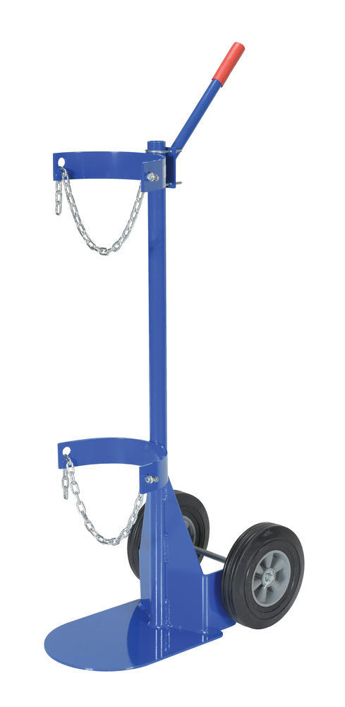 Cylinder Dolly With Hard Rubber Wheels - 2