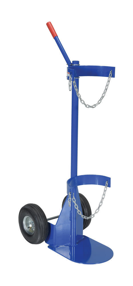 Cylinder Dolly With Pneumatic Wheels - 1