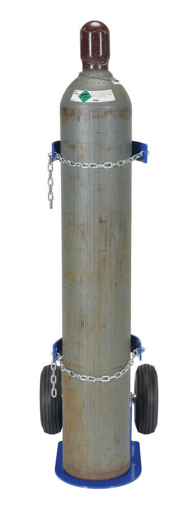 Cylinder Dolly With Pneumatic Wheels