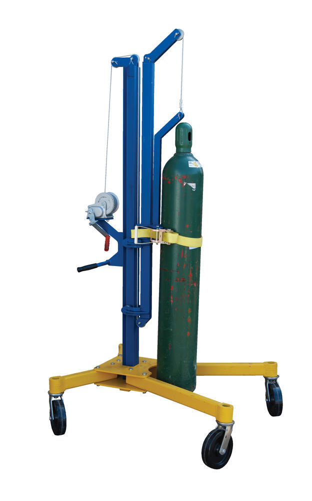Cylinder Lifter and Transporter 300 Lb Cap