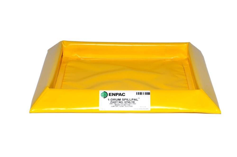 Flexible Spill Sump/Deck - 1-drum Spillpal without Grating - 1