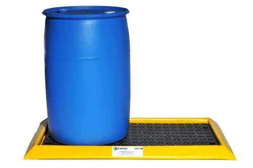Flexible Spill Sump/Deck - 4-drum Spillpal with Grating - 2