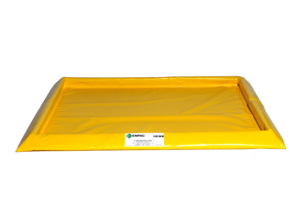 Flexible Spill Sump/Deck - 4-drum Spillpal without Grating