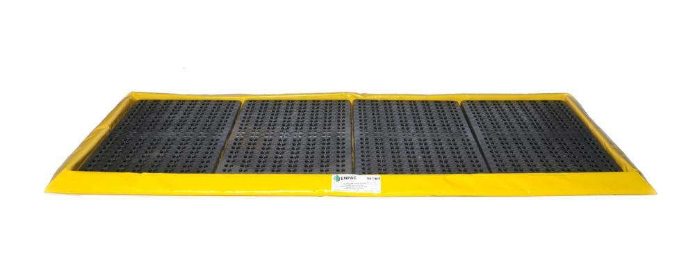 Flexible Spill Sump/Deck - 8-drum Spillpal with Grating