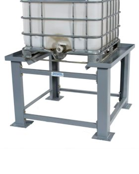 """IBC Tote Stand - 36"""" High - Easy Access for Dispensing - Steel Construction - Easy Assembly-w280px"""