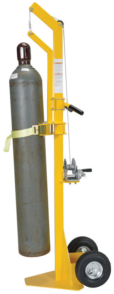 Portable Cylinder Lifter-Pneumatic Tires - 5