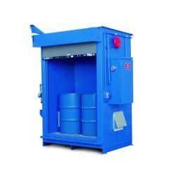 Specialty - 2 Hour Fire Rated - 150 mph Wind Rating - 4 Drum Locker