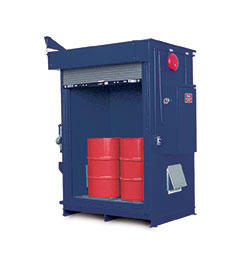 Specialty - 2 Hour Fire Rated - 2 Drum Locker