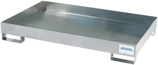 Spill Pallet - Galvanized Steel 6 Drum - No Grating