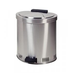Stainless Steel Waste Can - 35 Liter