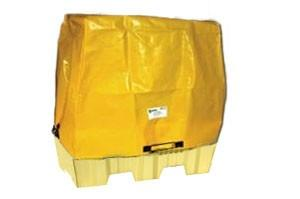 Tarp Cover For Nestable 2-Drum Poly-Spillpallet