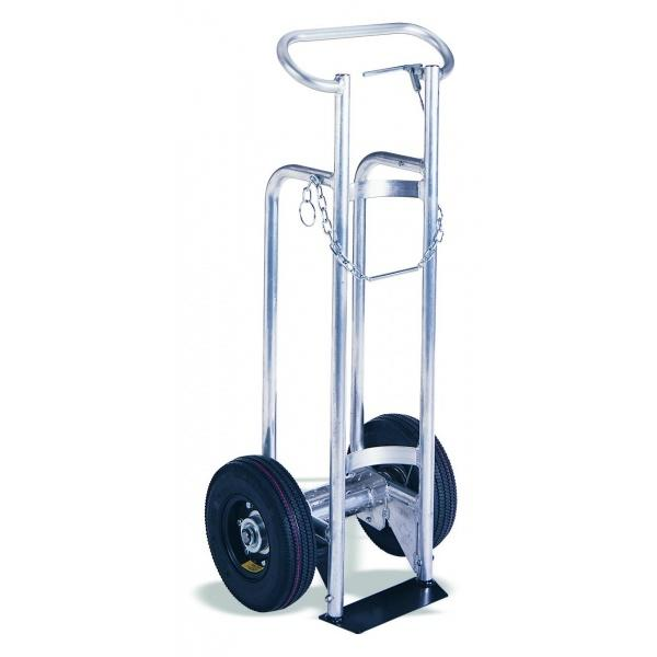 "Aluminum Cylinder Cart - Single frame for 9"" cylinders"