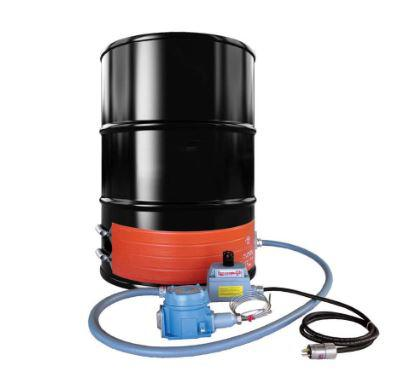 Explosion Proof Strip Heater - Steel Drum - 55 Gallon - 240V - T3 Environment