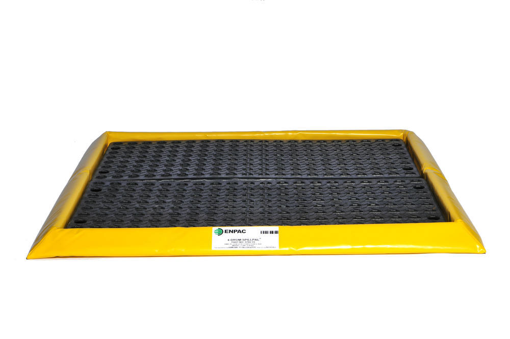Flexible Spill Sump/Deck - 4-drum Spillpal with Grating