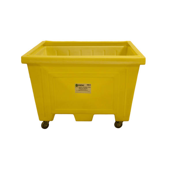 Large Tote w/Lid and 4 in. Wheels - 1