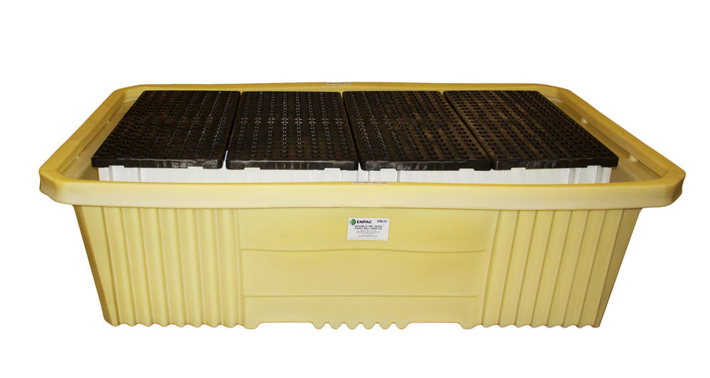 Double IBC Tote Poly Sump