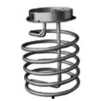 Heating Coil - 250 Gallon Steel IBC - compatible with M72-7910