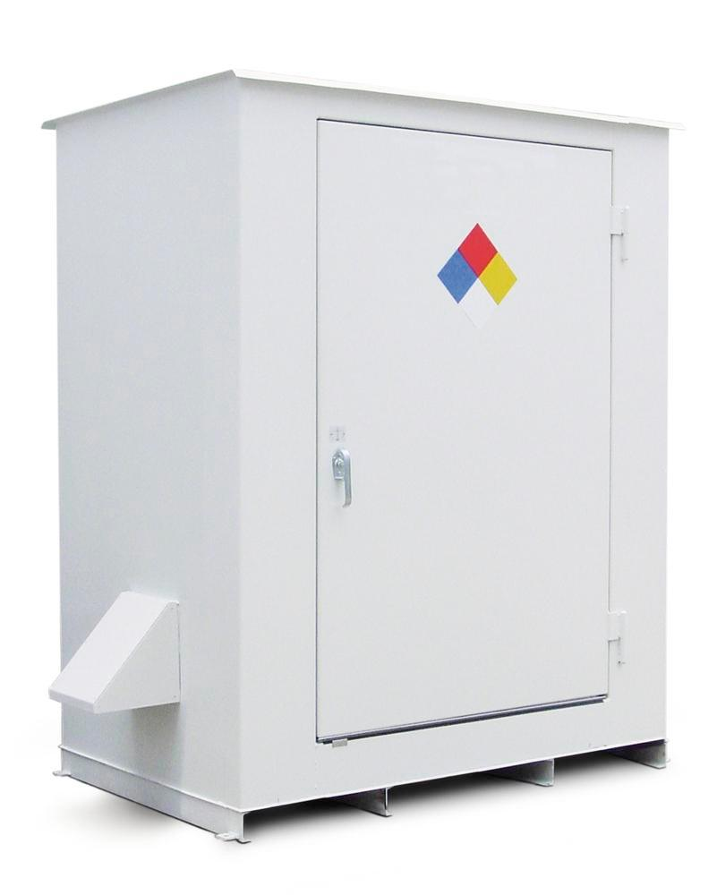 N Series - Non-Combustible - 150 mph Wind Rating - 2 Drum Locker