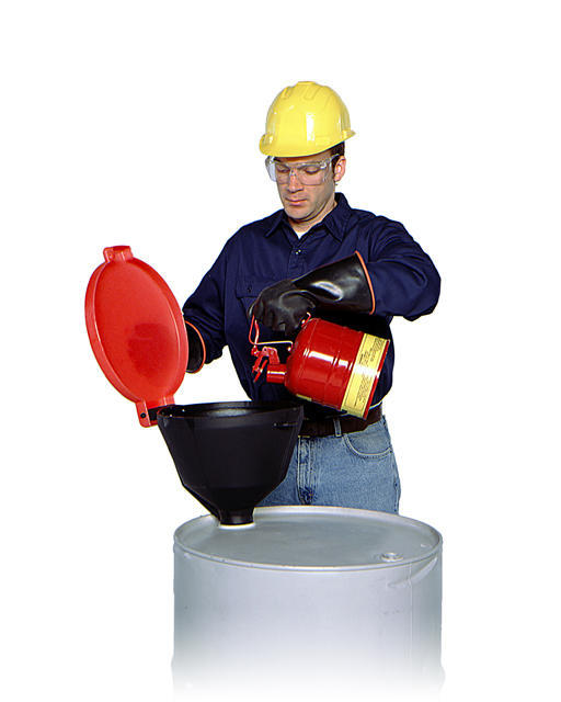 Poly Drum Funnel with Vented Lid