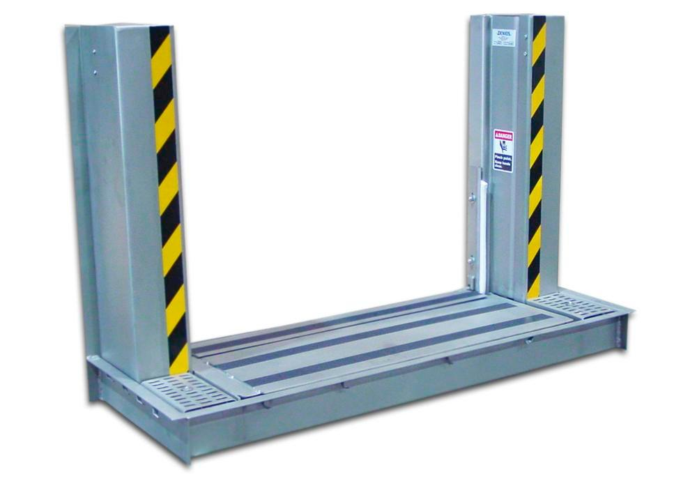 Automatic Doorway Spill Barrier 10' x 24""