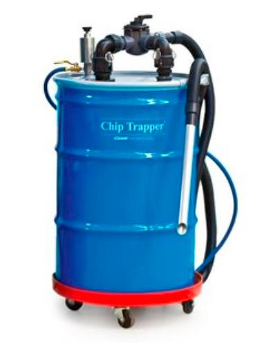 Chip Trapper System - 55 Gallon