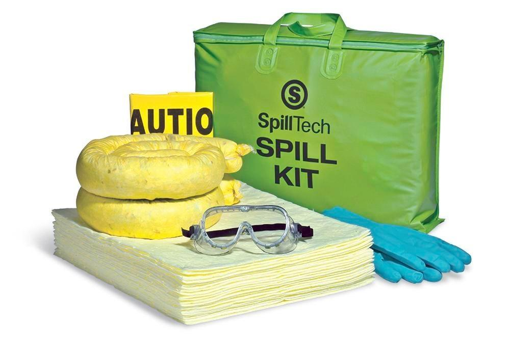 Absorbent Spill Kit 10-Gallon Overpack - Refill - Oil-Only - SPKHZ-TOTE